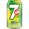 SEVEN UP 33 cl lata, pack 24 unidades