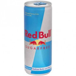 RED BULL sugar free 24 cl lata