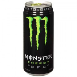 Monster energy drink 25cl lata