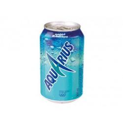 Aquarius Limón 33 cl Lata pack 24und