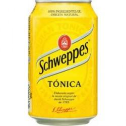Tónica Schweppes 30 cl lata
