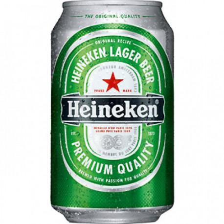 Heineken 33 cl lata