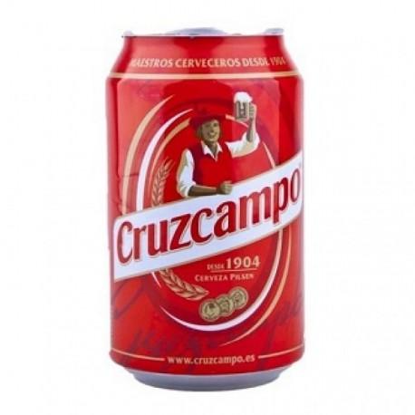 Cruzcampo 33 cl lata