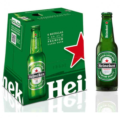 Heineken  25 cl. no retornable